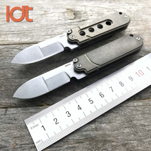 LDT Bean Thorn Gen2 Titanium Handle S35VN Blade Folding Knife Camping Survival Utility Knives Rescue Outdoor Knife EDC Tool(China)