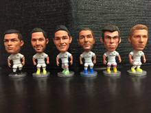 Soccerwe Spain European Soccer Star Lovely Action Figures Toys Fans Collection Football Dolls Gift Cronaldo Benzema James Ramos(China)