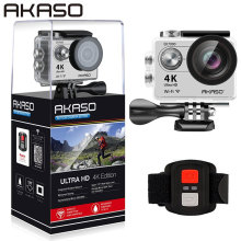 AKASO EK7000 4K Action Camera AKASO WIFI Ultra HD Waterproof Sports DV Camcorder 12MP 170 Degree Wide Angle(China)