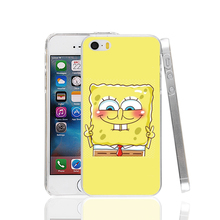 19394 SpongeBob and Patrick are Best Friends Cover cell phone Case for iPhone 4 4S 5 5S SE 5C 6 6S Plus 6splus