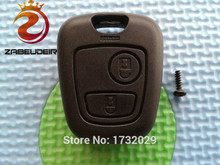 ZABEUDEIR 1 pcs New replacement key case cover For Toyota Aygo 2 Button remote key FOB SHELL/CASE no blade no logo(China)