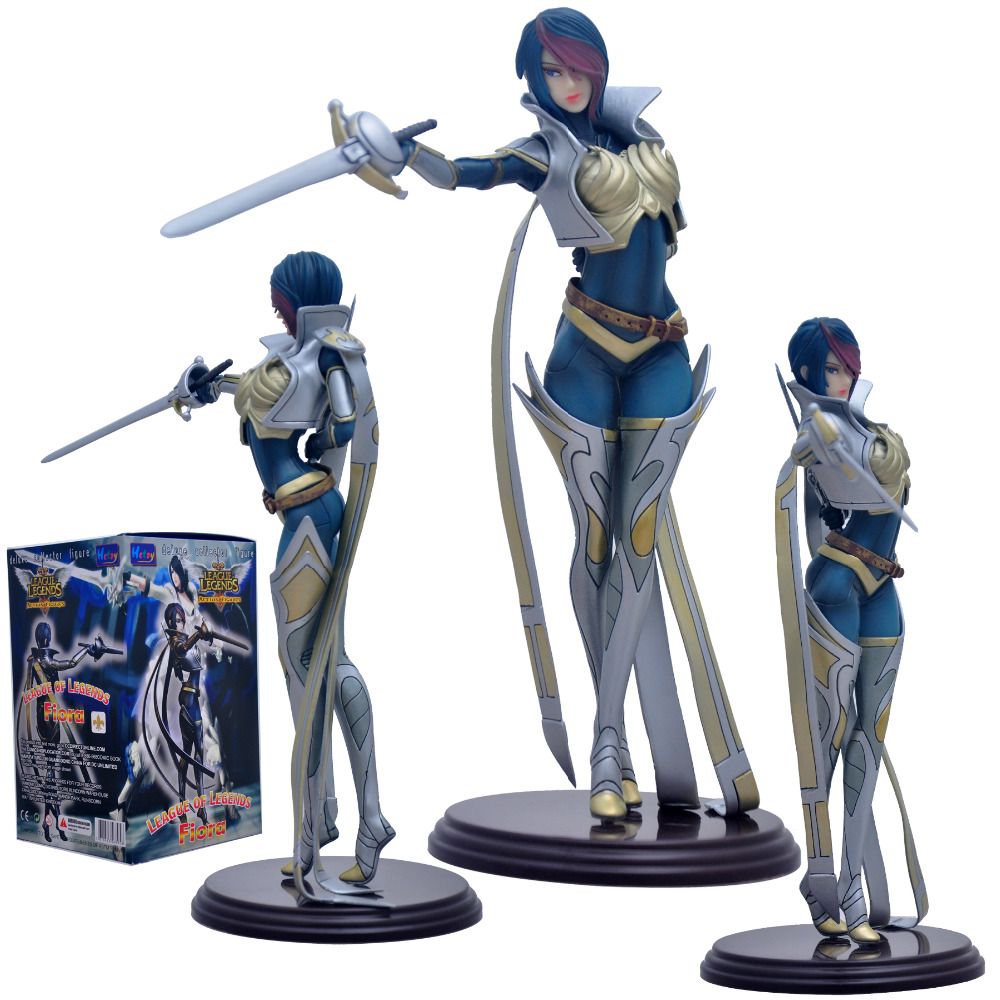 2016 NEW Hot Action Figure Toys 26CM The Grand Duelist Fiora Cool Christmas gift doll<br><br>Aliexpress
