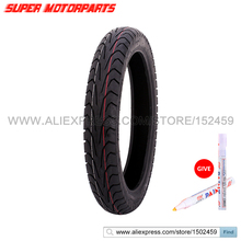 100/90-19 Motorcycle Tire For Honda STEED 400 For YAMAHA Drag Star 400 Vacuum Front Tire 100*90*19 FREE MARKER(China)