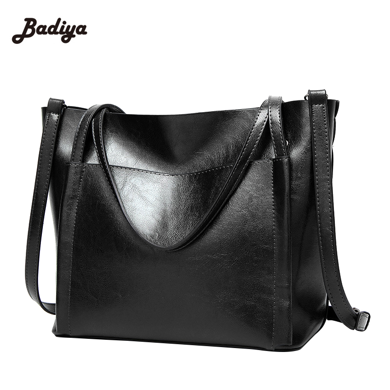 Vintage Solid PU Leather New Women Handbag Single Shoulder Bag Big Ladies Tote Crossbody Messenger Bags Feminino Bolsas<br>