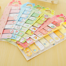 1 x lovely bowknot memo pad kawaii paper sticker post it sticky notes stationery material escolar school office supplies(China)