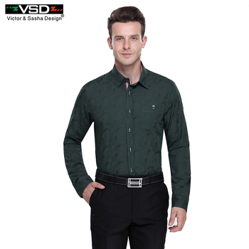 VSD 2016 Top Nouveau évider Hommes de Chemise De Mode de Causalité chemise À Manches Longues Hommes Chemises de Haute Qualité Mens Vêtements Livraison gratuite