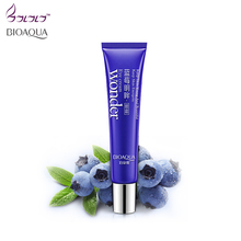 bioaqua eyes creams ageless firming eye anti puffiness dark circles under eye remover anti wrinkle anti age skin care blueberry(China)