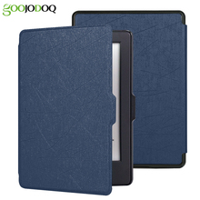 For Kindle 8 Case E-reader Cover (8th Generation 2016) ,Light Magnet PU Leather Smart Shell Auto Sleep for Amazon Kindle 8th Gen(China)