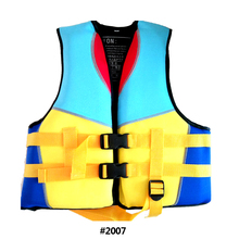 Yellow colour Kids Swim Kayak Lifesaving Vest Buoyancy Aid Sailing Kayak Life Jacket Drifting