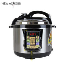Gohide Brand New 1pcs Stainless Steel Electric Pressure Cooker Cookware Intelligent Electric Pressure Cooker