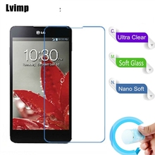 3PCS/Lot Nano Explosion-proof Soft Glass Protection Film Screen Protector for LG LN272 Rumor Reflex Film(China)