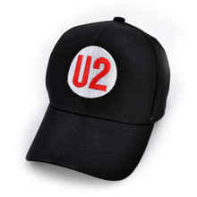 U2 Rock band Letter Baseball cap Men and women Pride Embroidery snapback hats outdoors Hip-hop cap(China)