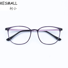KESMALL 2017 Prescription Glasses Women Men Vintage Spectacle Frame With Myopia Lens Vintage Optical Reading Eyeglasses YJ829P(China)