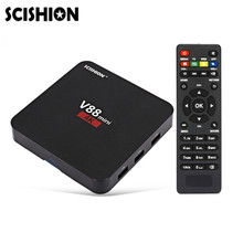 SCISHION V88 mini Smart TV Box 4 Core Android 5.1 Set-top Box 1GB 8GB RK3229 H.265 32Bits 4K Smart Media Player PK X92 X96 A95X