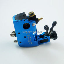 High Quality Professional Stigma Hyper V3 CNC Rotary Tattoo Machine Blue Aluminium Alloy tattoo gun Liner&Shader Free shipping