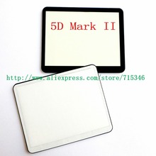 New LCD Screen Window Display (Acrylic) Outer Glass For CANON EOS 5DII 5D Mark II / 5D2 Camera Screen Protector + Tape(China)