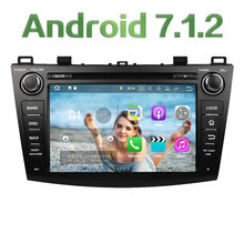 "Quad Core 2GB RAM 16GB ROM 8"" Android 7.1.2 Car Multimedia Stereo radio player for Mazda 3 2009 2010 2011 2012 Support Bose SWC(China)"