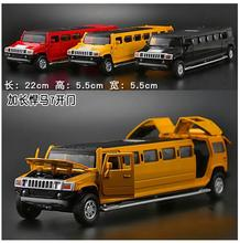 1:32 alloy car models child latest Extended Edition model simulation child toy car belt Kai Mensheng light boy gift free door