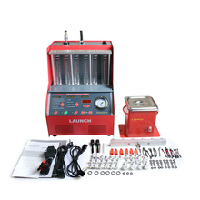 [LAUNCH Distributor] Launch 6-cylinder CNC602A Ultrasonic FUEL Injector Cleaner Tester English Panel 220V/110V(China)