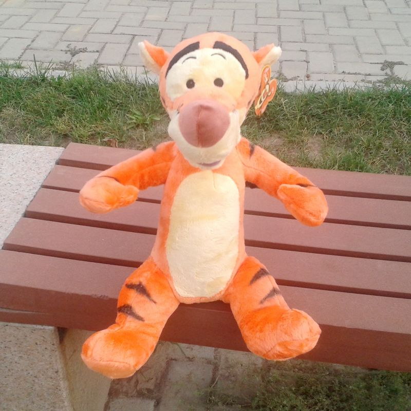 Original Rare Tigger Tiger Cute Soft Stuffed Plush Toy Doll Birthday Gift Children Baby Gift Collection<br><br>Aliexpress