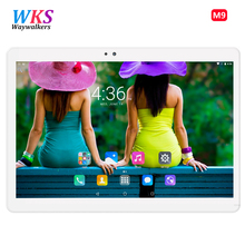 DHL Free Shipping Waywalkers tablet PC 10 inch Android 6.0 Octa Core 4G LTE 4GB RAM 64GB ROM 1920 * 1200 IPS GPS tablets 10.1 10