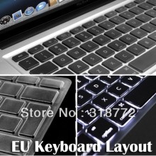 "HRH Wholesale 10X CLEAN TPU EUROPEAN EURO UK EU KEYBOARD COVER SKIN FILM PROTECTOR For APPLE MacBook Air  Pro 13"" 15"" 17"" A1369"