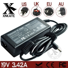 Portable Mini PC Charger 19V 3.42A 65W For Asus Ulrtabook UX32 UX32VD Tablet  Charger + EU/AU/US/AU Plug
