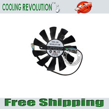 COOLING REVOLUTION New PLA09215B12H 4Pin GPU Fan For MSI N560 570 580GTX HD6870 GRAPHICS CARD