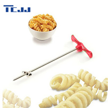 Manual Roller Spiral Slicer Radish Potato Tools Vegetable Spiral Cutter Kitchen Accessories Fruit Carving Tools(China)