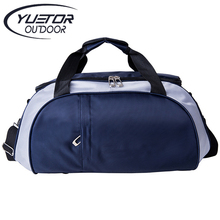 YUETOR Mens Waterproof Sport Bags Outdoor Portable Travel Handbags Bolsa Academia Bolsa Esportiva Nylon Gym Bag for Traveling