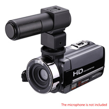 16X Zoom HD Digital Camera Video Recorder Camcorders CMOS 3.0 inch Rotation Screen Reflex IR night vision with Remote Control(China)