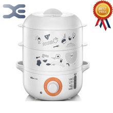 Cooking Appliances Food Warmer Bun Warmer 220V Steamer Electric Steamer Steamed 4L(China)