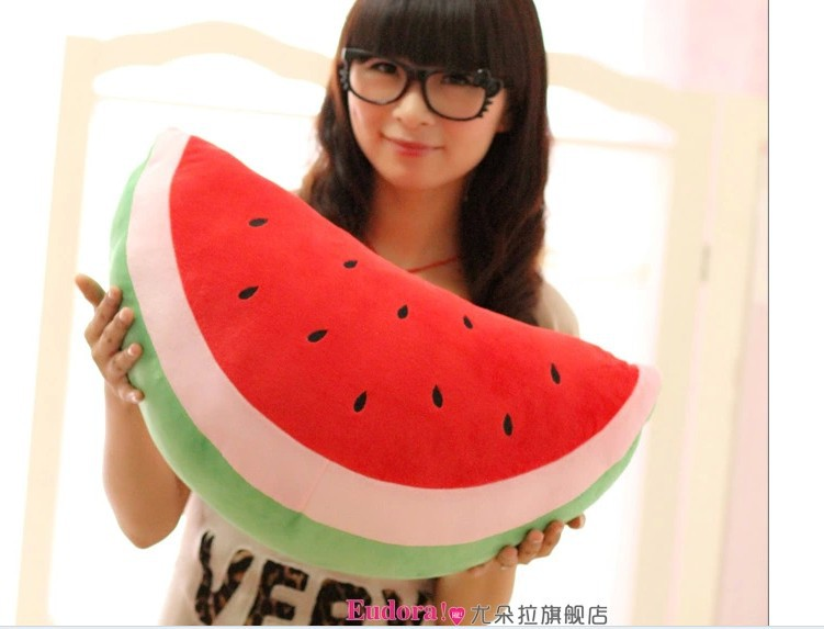 stuffed fruit watermelon plush toy about 50 x 30cm toy throw pillow toy gift  t701<br><br>Aliexpress