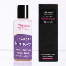Lily angel 120ml Professional Gel soak off removes quickly&easily of Nail UV Gel polish Remover Cleanser Liquid Z20