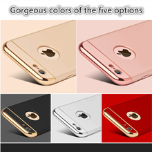 phone shell Back Cover Coverage Removable 3 in 1 composition Case For iphone 6 6s 7 Plus cover Protective shell Bag
