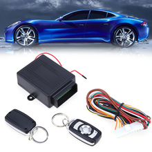New 1pcs Car Alarm Systems Auto Remote Central Kit Door Lock Vehicle Keyless Entry System Central Locking with Remote Control(China)