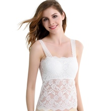 Summer Sexy Wrapped Chest Bodycon Tank Top Sexy Club Wear Backless Shirt Tops Casual Lace Spaghetti Strap Tee Vest(China)