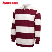 Kawasaki Long sleeves Sublimated Rugby jersey Men Rugby Jersey Adult Male Polyester Custom breathable T Shirt clothing Fit Size
