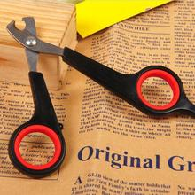 Products for animals small size stainless steel cat nail clipper scissors for small dogs(China)