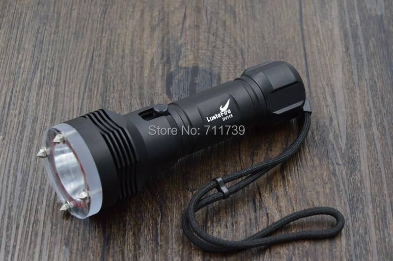 Free shipping Lustefire DV115 CREE XM-L L2 1200 Lumens LED Diving Flashlight Scuba Diving 100 M<br>