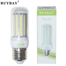 10pcs/lot high brightness E27 LED bulb SMD 2835 102LEDs 220V/110V White/Warm White E27 LED lamp led Corn light lampada spotlight
