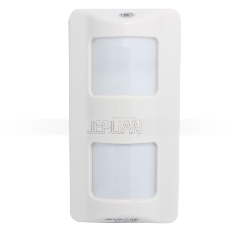 (10PCS) Dual-Infrared and Microwave intelligent PIR Sensor Outdoor water pfroof PET immunity 25KG Wide angle Motion detector<br>