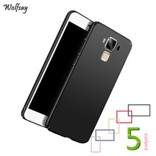 Wolfsay For Cover Asus Zenfone 3 Max ZC553KL Case Fashion Luxury PC Phone Cases For Asus Zenfone 3 Max ZC553KL Cover Coque Capas(China)