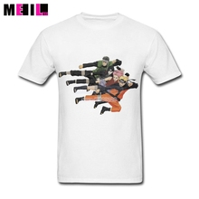 Custom Designing Naruto Character Picture Big Size T-shirt   Couple  Short Sleeve tshirts
