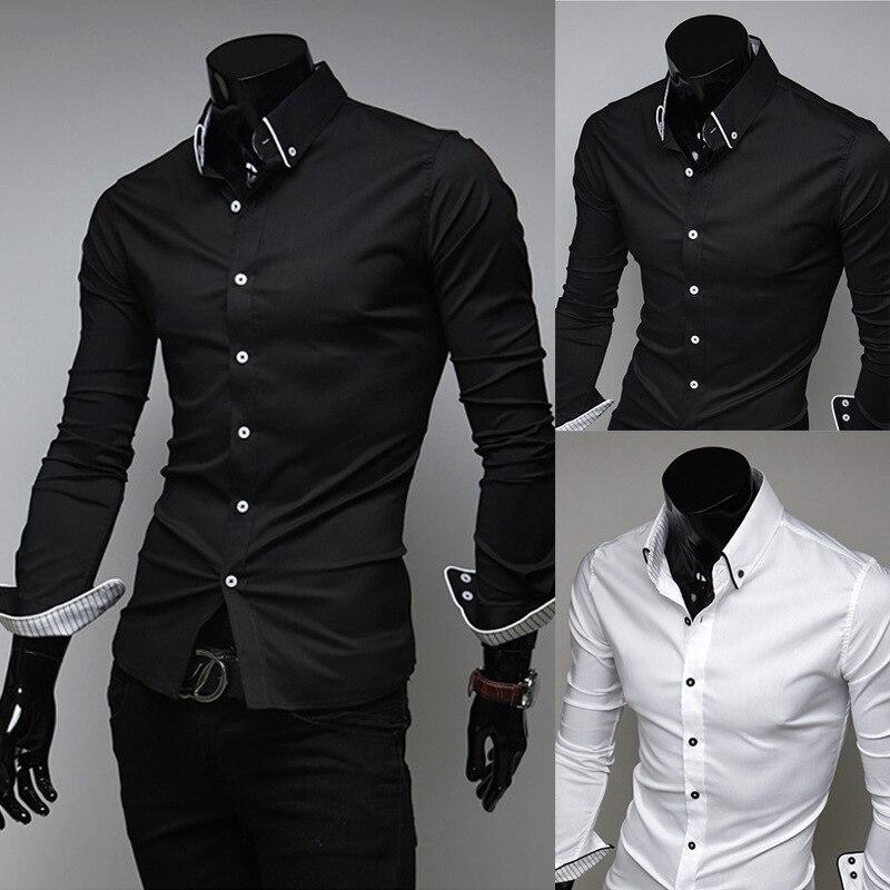 High Quality Black Mandarin Collar Shirt Promotion-Shop for High ...