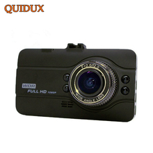 QUIDUX Full HD 1080P Car Dvrs Novatek 96650 WDR AUTO Video Camera Recorder 150 Degree Dash Cam 4 LED night vision(China)