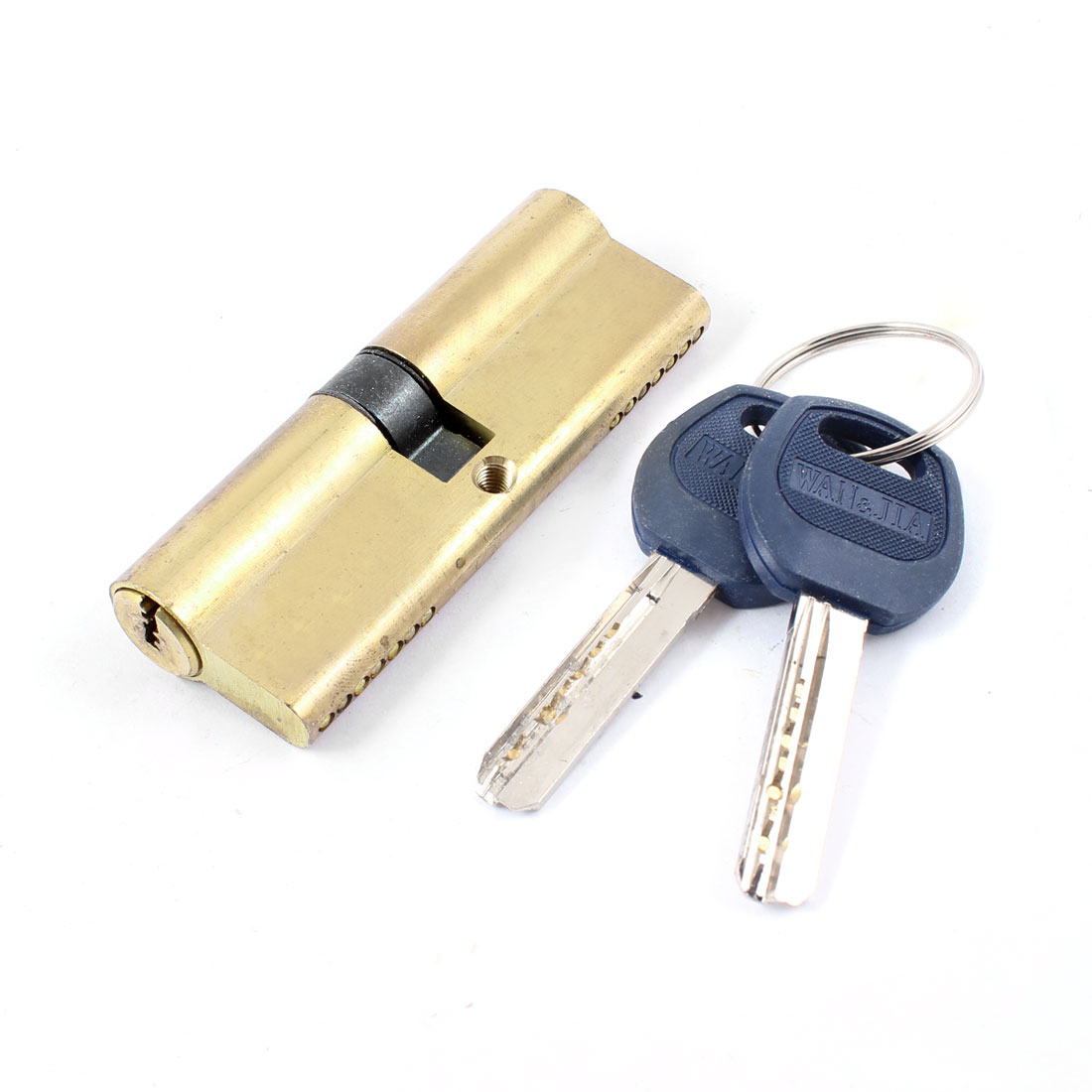 UXCELL Home Gold Tone Metal Safety Home Door Lock Cylinder W 8 Keys<br><br>Aliexpress