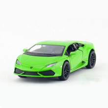 KINSMART 1:36 Scale Emulation Sports Car Toys, Pull Back Diecast Toy Vehicles Kids Toys, Doors Openable Cars Models / Brinquedos(China)