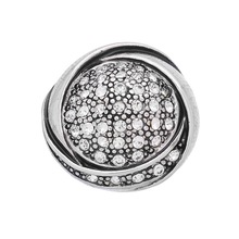 Vintage Style Handmade 18mm Rhinestone Snap Buttons Charm For DIY Snap Pendant Necklace Jewelry Accessories Silver Plated(China)