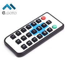 Wireless Portable Infrared Remote Control 21 Key UPD6122 Encode Rubber Remote Controller for Smart Home(China)